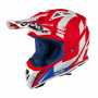 Casque Cross Airoh Aviator 2.3 AMS Bigger Rouge Mat