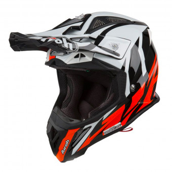 Casque Cross Airoh Aviator 2.3 AMS Great Orange