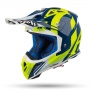 Casque Cross Airoh Aviator 2.3 AMS Bigger Bleu