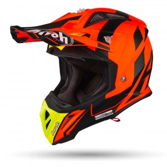 Casque Cross Airoh Aviator 2.3 AMS Bigger Orange Mat