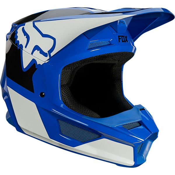 Casque Cross FOX V1 Revn Blue