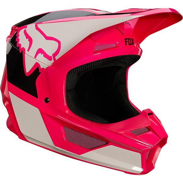 Casque Cross FOX V1 Revn Pink