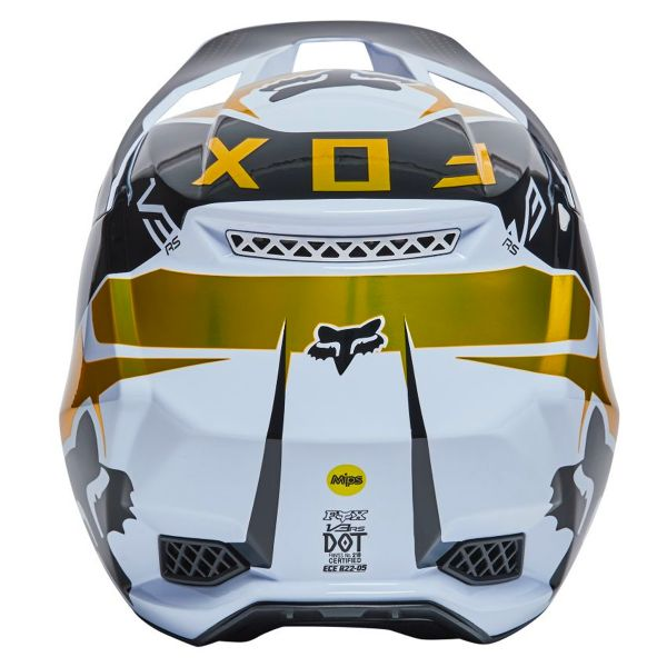 FOX V3 RS Mirer White Black
