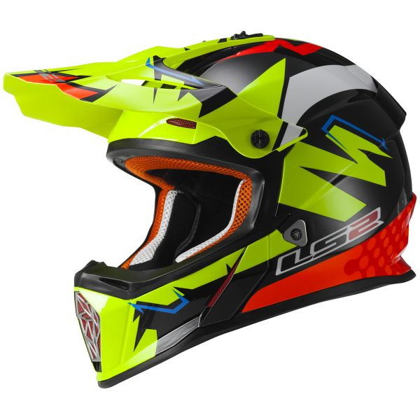 Casque Cross LS2 Fast Replica Isaac Vinales MX437