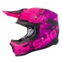 Casque Cross SHOT Furious Counter Rose Matt