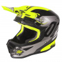 Casque Cross SHOT Furious Shadow Neon Yellow