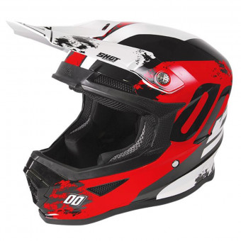 Casques - best-sellers 2019 SHOT Furious Shadow Red White