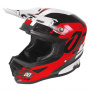 Casque Cross SHOT Furious Shadow Red White