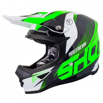Casque Cross SHOT Furious Ultimate Neon Vert