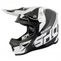 Casque Cross SHOT Furious Ultimate Noir Blanc