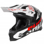 Casque Cross SHOT Lite Rush Black Red