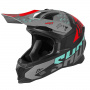 Casque Cross SHOT Lite Rush Turquoise Fuchsia Matt