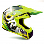 Casque Cross Torx Marvin 3 Eyes Neon Yellow Grey Matt