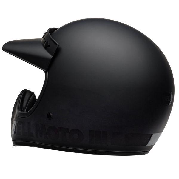 Bell Moto-3 Blackout Black