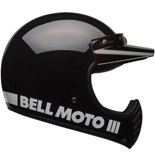 Casque Cross Bell Moto-3 Classic Black