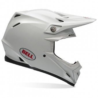 Casque Cross Bell Moto-9 Carbon Flex Solid White