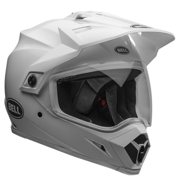 Casque Cross Bell MX-9 Adventure Mips Solid White