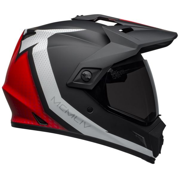 Bell MX-9 Adventure Mips Switchback Matte Black Red White