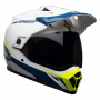 Casque Cross Bell MX-9 Adventure Mips Torch White Blue Yellow