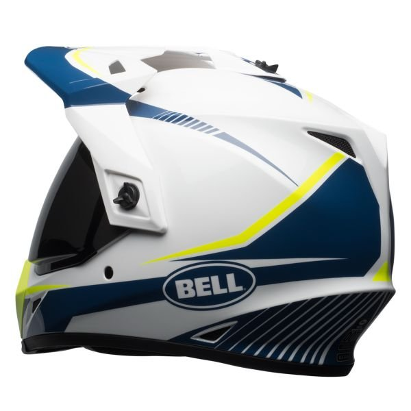 Bell MX-9 Adventure Mips Torch White Blue Yellow