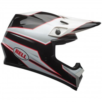 Casque Cross Bell MX-9 Mips Stryker Black White