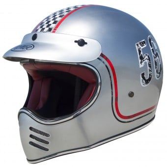 Casque Cross Premier MX FL Chromed
