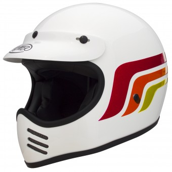 Casque Cross Premier MX LC8 White