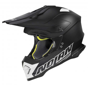 Casque Cross Nolan N53 Vultur Flat Black White 59