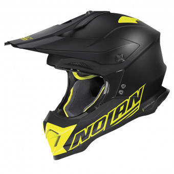 Casque Cross Nolan N53 Vultur Flat Black Yellow 55