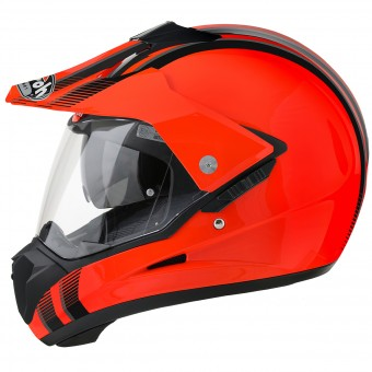 Casque Cross Airoh S5 Orange