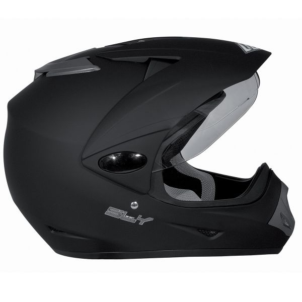 Casque Cross SHOT Sly Noir Mat