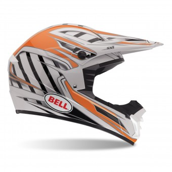 Casque Cross Bell SX-1 Swich Orange