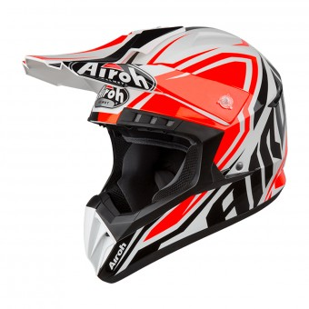 Casques Moto Cross Airoh Twist Aviator Terminator S5 Large
