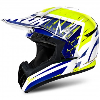 Casque Cross Airoh Switch Startruck Yellow