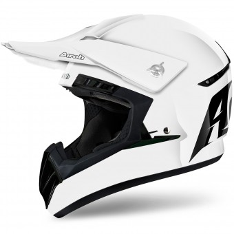 Casque Cross Airoh Switch White