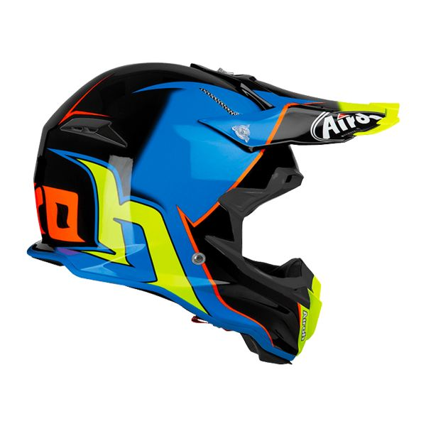 Airoh Terminator Open Vision Slider Bleu