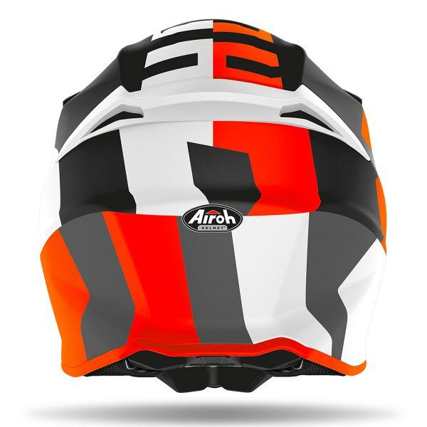 Airoh Twist 2.0 Frame Orange Matt