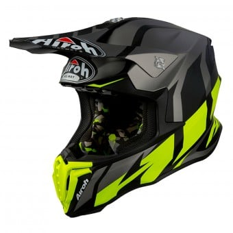 Casque Cross Airoh Twist Great Anthracite Mat