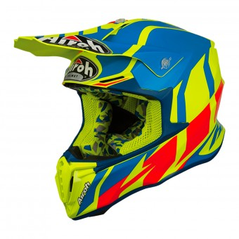 Casque Cross Airoh Twist Great Azur Mat