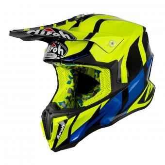 Casque Cross Airoh Twist Great Jaune