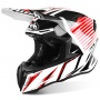 Casque Cross Airoh Twist Strange Red