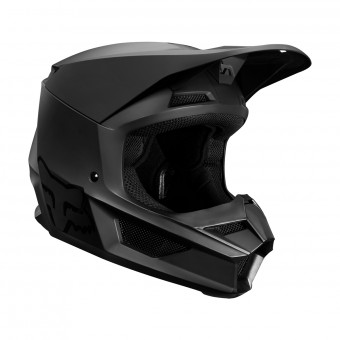 Casque Cross FOX V1 Matte Noir