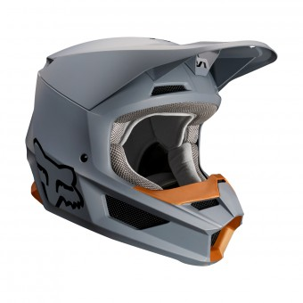 Casque Cross FOX V1 Matte Stone