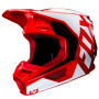 Casque Cross FOX V1 Prix Flame Red