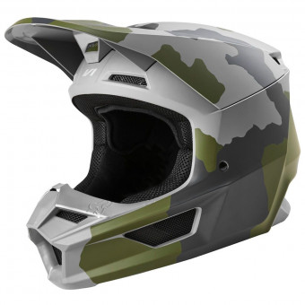 Casque Cross FOX V1 Przm Camo Se