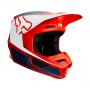 Casque Cross FOX V1 Przm Navy Rouge