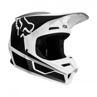 Casque Cross FOX V1 Przm Noir Blanc