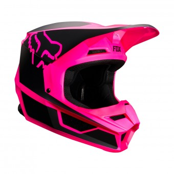 Casque Cross FOX V1 Przm Noir Rose