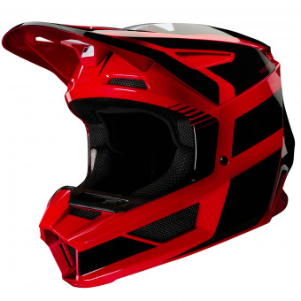 Casque Cross FOX V2 Hayl Flame Red