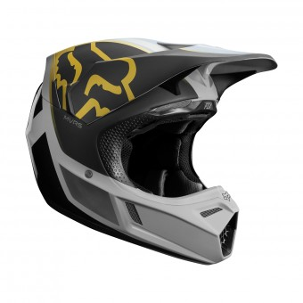 Casque Cross FOX V3 Kila Gris